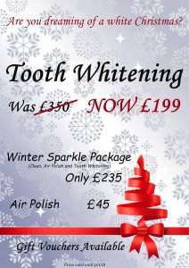Tooth Whitening special offer Stockport